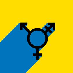 Transgender symbool UGent
