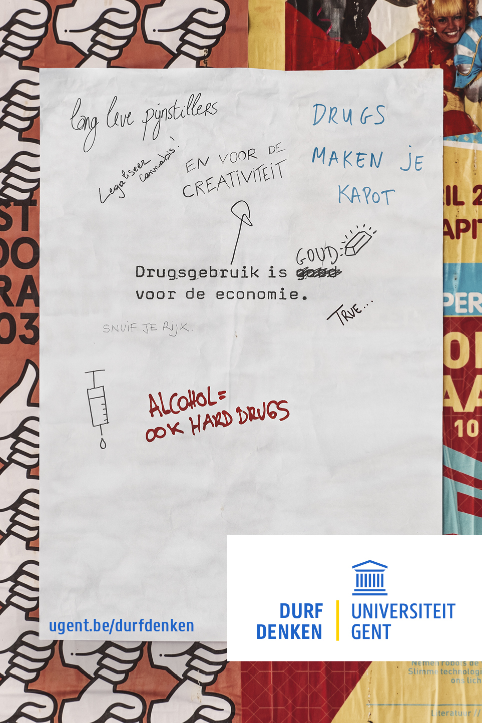 Quote over drugsgebruik
