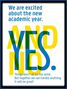 Visual YES/NO opening academic year 2021-2022