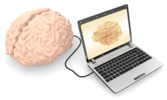 Brein met computer