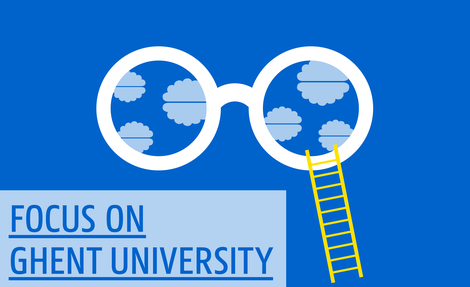 Cover interactieve versie Focus on Ghent University