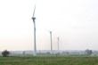 Drie windturbines op de proefhoeve in Melle leveren energie aan de UGent