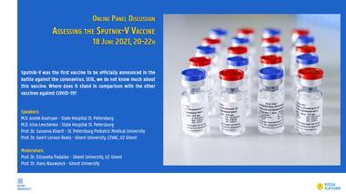 Panelgesprek Spoetnik Vaccin (vergrote weergave)