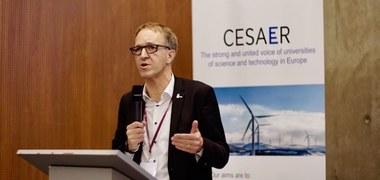 Rik Van de Walle bij CESAER (vergrote weergave)