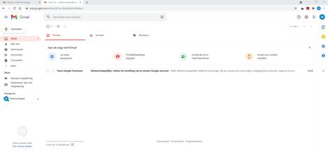 Aan de slag met Gmail