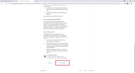 Bevestigen Gmail