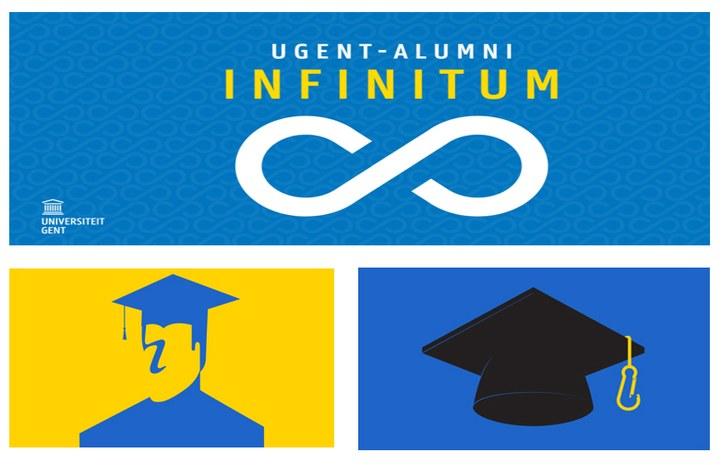 Logo: UGent Alumni Infinitum & Doctoral Schools