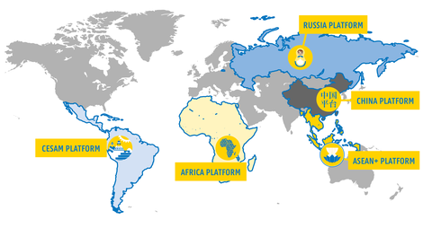 Regional Platforms map