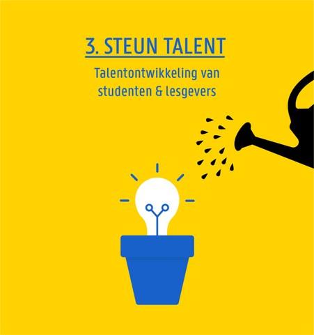 3. Steun talent