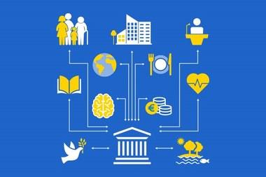 Maatschappelijke valorisatie van onderzoek: netwerk UGent en samenleving (vergrote weergave)