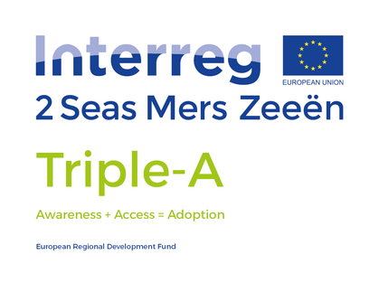 Interreg 2 Seas Triple-A logo