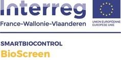 Interreg Frankrijk-Wallonië-Vlaanderen BIOSCREEN logo