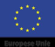 Europese Unie logo vlag met naam