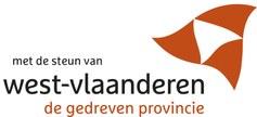 Met de steun van de provincie West-Vlaanderen