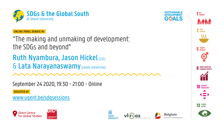 The making and unmaking of development: the SDGs and beyond