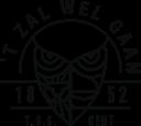 Logo Taalminnend studentengenootschap 't Zal wel gaan