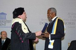 Eredoctoraat Kofi Annan