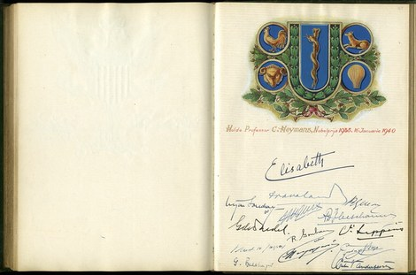 Eerste huldeboek UGent