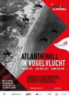 Affiche Atlantikwall in vogelvlucht