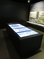 Interactive museum display with 6.500 WW I aerial photographs
