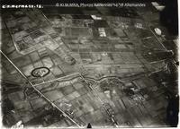 Luchtfoto uit WO I boven Brasschaat