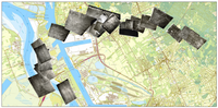 Location of part of the WW I photographs around Antwerp