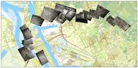 Ligging van de WO I luchtfoto's rond Antwerpen
