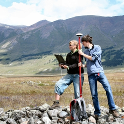 Survey in het Altaj-gebergte