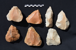 Lithic artefacts from Jebel Samar and Jebel Markh (Saudi-Arabia)