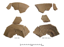 The earliest wheel-made pot at Thorikos: a Lefkandi I-Kastri wheel-made plate (copyright: Margarita Nazou)
