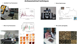 Archeometrische technieken gebruikt in kader van het doctoraatsonderzoek