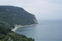 Monte Conero en de Adriatische Zee