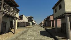 3D reconstructie van de Romeinse stad Ammaia