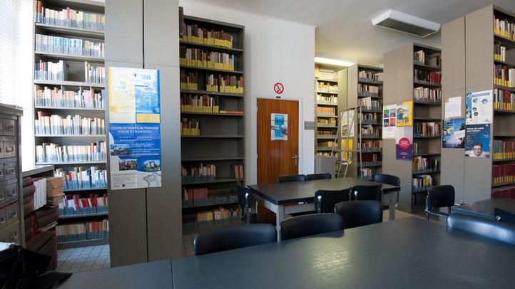 Seminariebibliotheek L14X in 2011