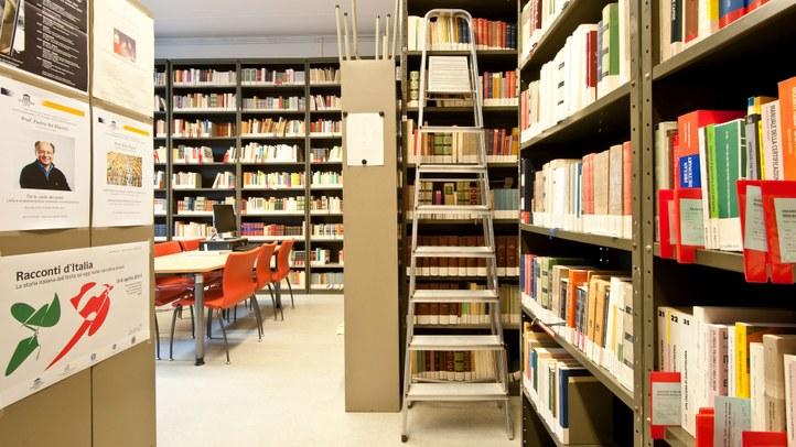 Seminariebibliotheek L16 in 2011