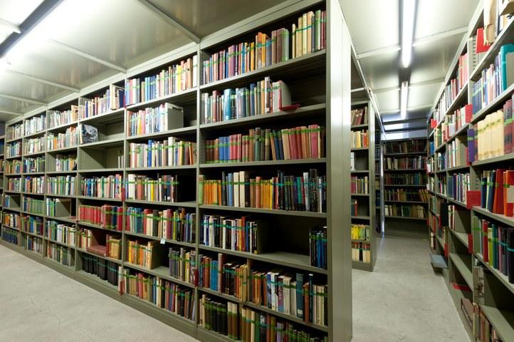 Seminariebibliotheek L34 in 2011
