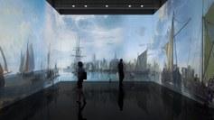Virtuele bootreis langs virtuele Zwingeul