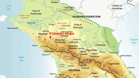 Il'ichevsk, noordelijke Kaukasus