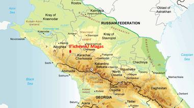 Il'ichevsk, noordelijke Kaukasus (large view)