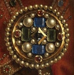 Detail Lam Gods Van Eyck (vergrote weergave)