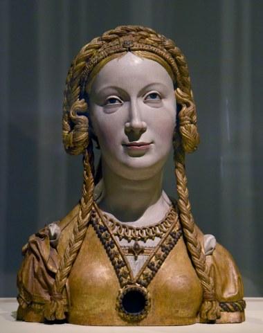 Pasquier Borman Reliquary Bust New York