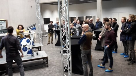 First Do Tank at the ArtScienceLab IPEM UGENT De Krook March 1st 2017