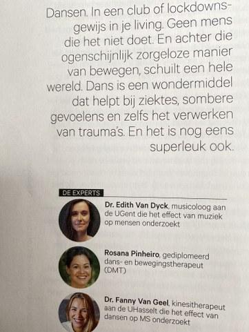 Dr. Edith Van Dyck
