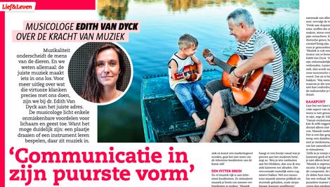 Edith van Dyck in Primo, juni 2021.