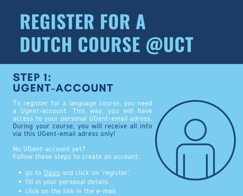 Step by step registration for Dutch courses