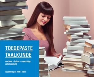 Brochure Toegepaste Taalkunde (vergrote weergave)