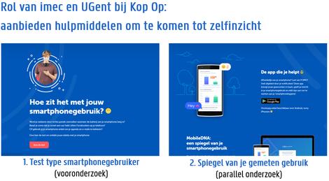 Bijdrage imec UGent mobileDNA Kop Op