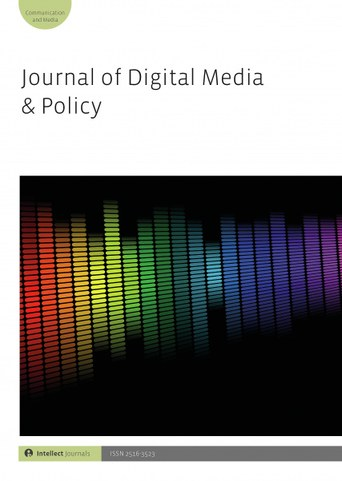journal cover digital media policy