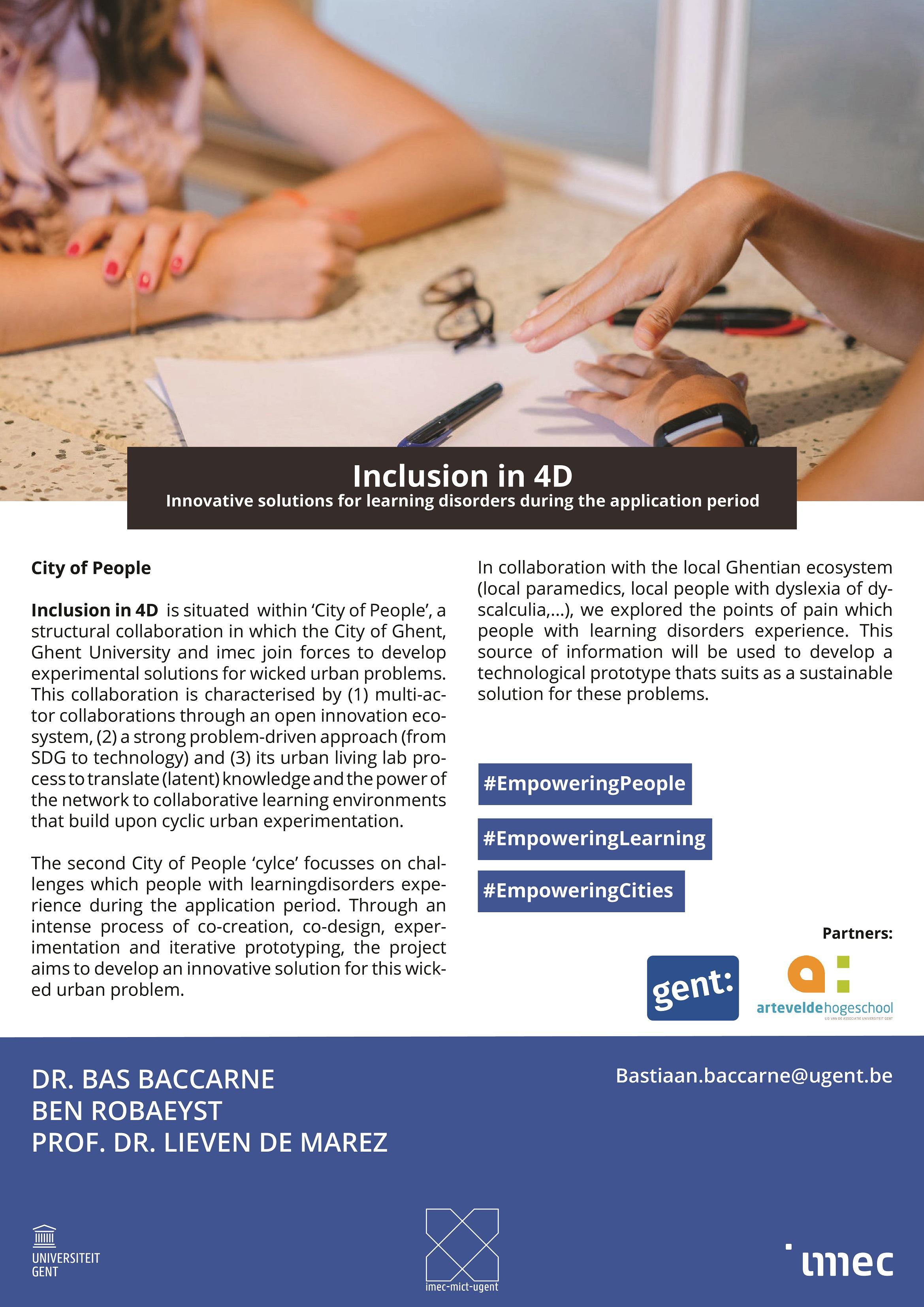 inclusion in 4D
