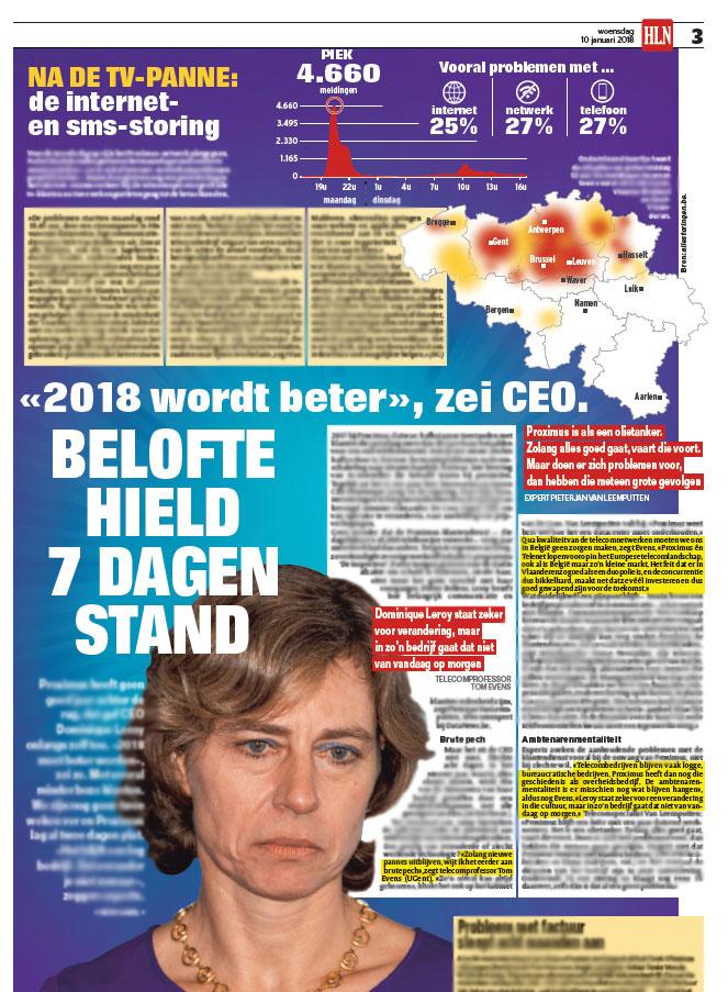 BRON: Het Laatste Nieuws, 10/01/2018, p 3